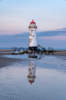 Talacre Lighthouse, Clwyd, Wales, UK