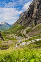 Trollstigen center and lookout in Norway