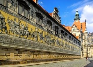 Dresden Fürstenzug - Dresden Procession of Princes 01
