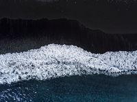 Black Beach Aerial