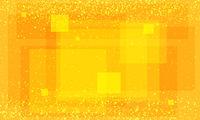 Modern orange background with squares