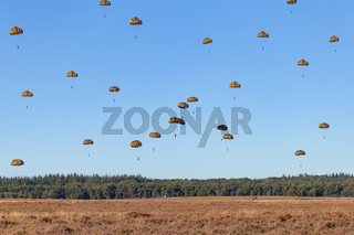 Paratroopers jump Netherlands