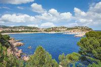 Sant Feliu de Guixols,Costa Brava,Katalonien,Mittelmeer,Spanien