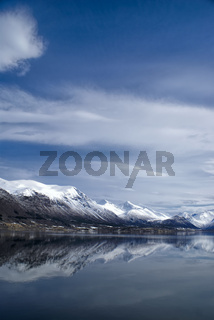Mountains in Andalsnes