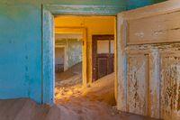 Kolmanskop ghost town near Luderitz in Namibia.