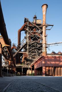 Old steelmill, Duisburg, Germany