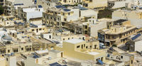 Streets of maltese city of Victoria