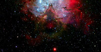 High resolution image of the universe. This image elements furnished by NASA.