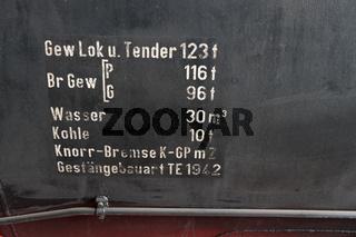 Details einer Dampflokomotive