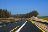 Autobahn bei Marktheidenfeld