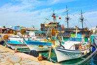Port of Ayia Napa in Cyprus