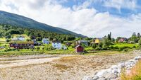 Village Eidsora in Norway