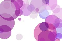 Abstract violet circles illustration background
