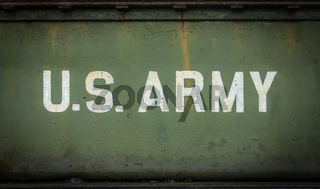 Vintage Sign For The US Army