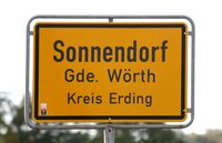Ortsschild  Sign