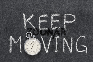 keep moving watch