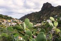 Vallehermoso auf der Insel La Gomera