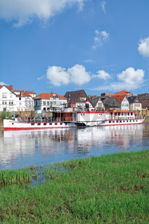 Minden an der Weser im Weserbergland,NRW,Deutschland