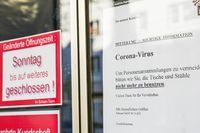 Coronavirus Warning Signs in Germany