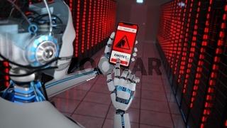 Humanoid Robot Data Center Emotet Detection