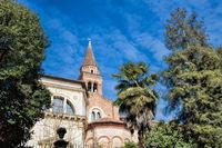 chiesa di santa corona, italien