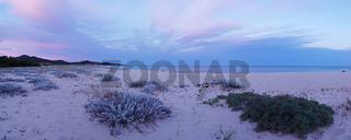 Lichtstimmung am 'Spiaggia Capo Ferrato' - Sardinien