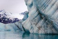 Eisberge, Liefdefjord Spitzbergen, Norwegen