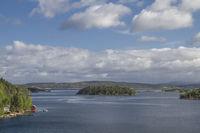 Ausblick auf den Fjord