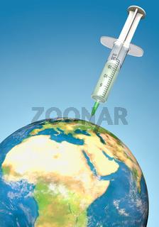 Weltweite Impfkampagnen, Hochformat