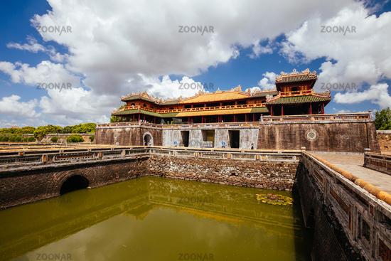 Hue Imperial Citadel in Vietnam