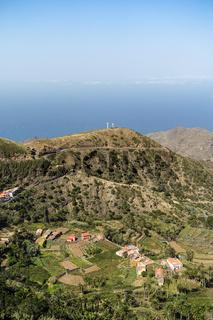 Blick von Epina Richtung Alojera - Insel La Gomera
