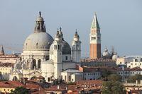 Panoramic view of Venice
