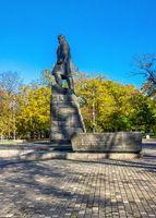 Monument to Taras Shevchenko in Odessa, Ukraine