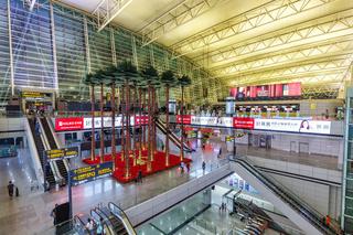 Flughafen Guangzhou Baiyun International Airport Terminal 1 in China