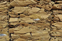 Altkarton-Recycling Paper recycling