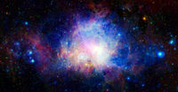 Nebula night sky. Elements of this image furnished by NASA