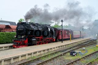 Die Brockenbahn in Wernigerode