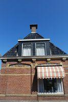 Backsteinhaus in  Friesland, Niederlande