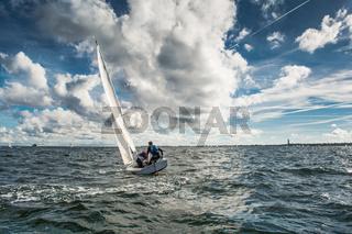 Segeln auf der Ostsee, Germany