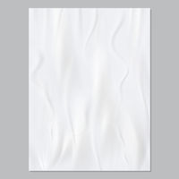 Wrinkled paper. Realistic vector template for modern poster