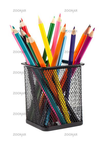 Various color pencils