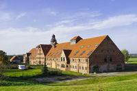Produktionsstaette der Lunge Lauf- und Sportschuhe GmbH, Duessin, Mecklenburg-Vorpommern, Deutschland