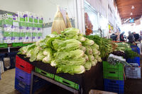 Salat und Kräuter - Bandabulya Städtischer Markt Nord-Nokosia