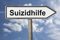 Wegweiser Suizidhilfe | signpost Suizidhilfe (medically assisted suicide)