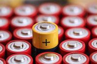 Viele Batterien