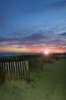 Myrtle Beach sunset view