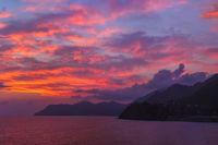 Sunset in Cinque Terre - Italy
