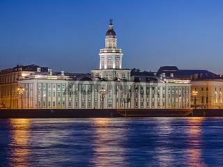 Cabinet of curiosities in Saint-Petersburg - Russia
