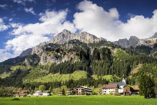Nesselwängle, Tannheimer Tal, Österreich