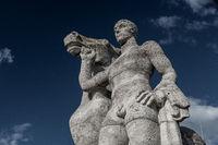 Ross und Reiter Olympiastadion Berlin